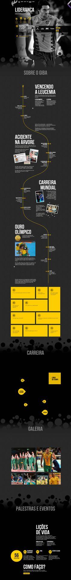 Unique Web Design, Giba 7 #webdesign #design (http://www.pinterest.com/aldenchong/)