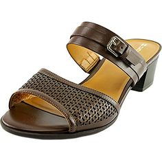 Naturalizer Womens Cadie Dress Sandal Brown 85 N US *** Want to know more, click on the image.