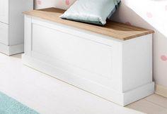 Home affaire Bank »Binz« für 99,99€. Fühlbare Struktur, Bietet viel Stauraum, Maße (B/T/H): 90/40/45 cm, Aus FSC®-zertifiziertem Holzwerkstoff bei OTTO
