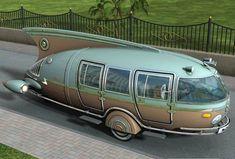 Doctor Manhattan - danismm:     Futuristic car from the 1930's