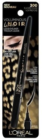 L'Oréal Paris presents Voluminous® Liner Noir in a rich, black formula. Creates mesmerizing feline looks with the ultra-fine tip for sleek and easy application. Unique packaging shape provides added control and precision. To complete the total Feline look, discover the Voluminous Feline Noir MascaraTM.
