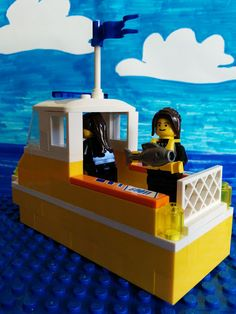 Real life women scientists of the USFWS as interpreted by Legos! Carey Edwards is a Fish Biologist at Iron River National Fish Hatchery. A typical day for her includes feeding fish and cleaning raceways, but she also gets to work on fish spawning and fish distribution. She loves being part of an agency that protects natural resources across the country and knowing that she is making a difference.