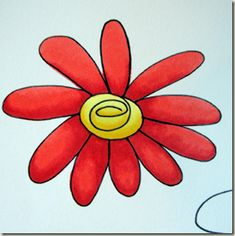 How to use copic markers tutorial 4 | flower printable + shading how-to