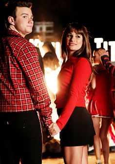 Kurt Hummel & Rachel Berry Homecoming Glee
