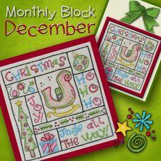 m. Monthly Block - December
