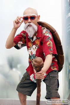 Master Roshi Cosplay. My second on here, but it makes the cut, don't you think? Kudos.