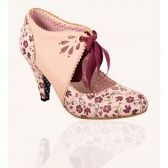 Chaussures Escarpins Pin-Up Rockabilly 50's Mary Beth Floral