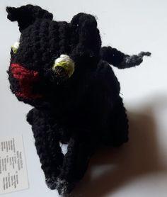 Schwarze Katze | Delanji plush