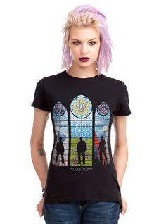 Supernatural Stained Glass Girls T-Shirt
