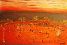Cricket Outback Australia