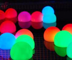Mood Light Garden Deco Ball (Light up Orb) by FlashingBlinkyLights Glow Stick Party, Glow Sticks, Glow Stick Pool, Garden Deco, Mood Light, Sweet 16 Parties, Ball Lights, 16th Birthday, Birthday Bash