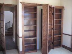 Secret door from Study to... ? pic 1, open
