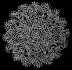 Beautiful Example of fine Knitted lace