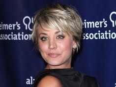 The Big Bang Theory Actress Kaley Cuoco Mixes Up Her Short Hair ...