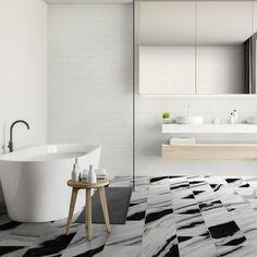 Bathroom Floor Tiles, Tile Floor, Wall Tile, Kitchen Mosaic, Marble Polishing, Large Format Tile, Floating Floor, Bathroom Design Small, Bathroom Ideas
