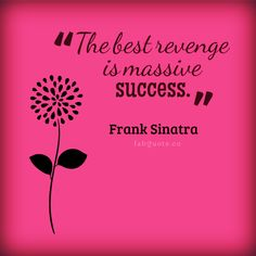 "Frank Sinatra ""Massive Success"" Quote"