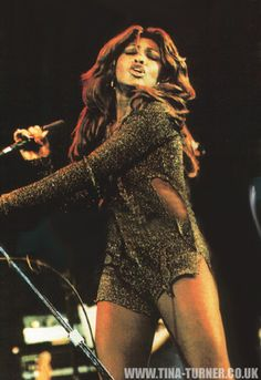 "♥ Tina Turner ♥  The ""Queen of Rock & Roll""; I was thrilled when she finally left that wife beater"