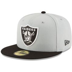 New Era Oakland Raiders Team Basic 59FIFTY Fitted Cap ( 35) ❤ liked on  Polyvore 20a860f48