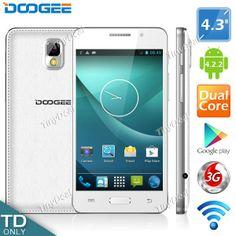 "(DOOGEE) Moon DG130 4.3"" IPS Screen MTK6572 2-Core Android 4.2.2  3G WiFi Play Store Phone 512MB RAM 4GB ROM P07-DG130"