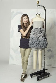fashion for tweens and teens  couture in progress, inspiration my painting. . . .   www.isabellarosetaylor.com