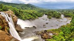 athirappilly waterfall in kerala