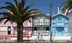 Entre Lisboa y Oporto, el paraíso de mar y piedra, Aveiro, Costa Nova, Centro de Portugal, Portugal