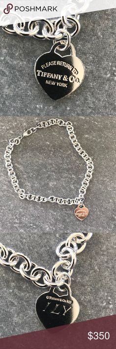 a2dbcaa43 ILY engraved necklace new New ILY engraved Tiffany & Co. Jewelry