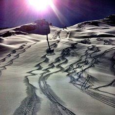 Who is making tracks today? Snowboard Shop, Snowboard Goggles, Winter Is Here, Winter Snow, Snowboarding, Skiing, Ski Bindings, Ski Vacation, Ski Season
