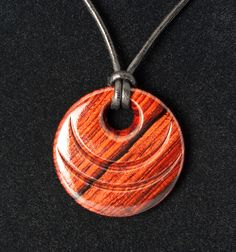 Cocobolo Pendant | Flickr - Photo Sharing!