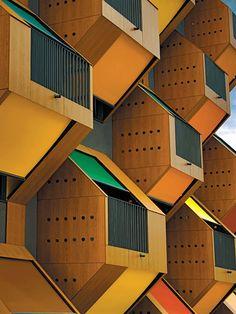 Social Housing Block by Ofis Architects in Izola, SLovenia
