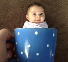 Adorable Babies Custom Mug Shots - Daily Doozy (shared via SlingPic) Laughing Baby, Baby Art, Arts And Entertainment, First Baby, Mug Shots, Picture Poses, Custom Mugs, Baby Photos, Little Ones