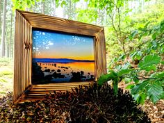 Shops, Etsy Shop, Frame, Painting, Home Decor, Pictures, Wood Picture Frames, Craft Gifts, Nature