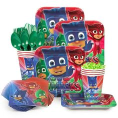 PJ Masks Standard Birthday Kit (serves 8)