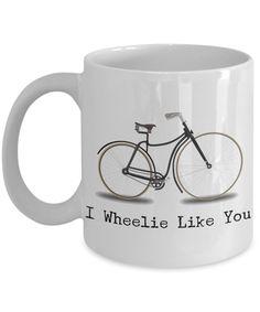 I Wheelie Like You Mug Bicycle Beach Cruiser Coffee Cup