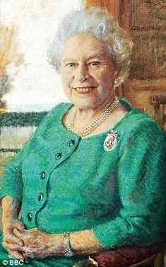 Queen Elizabeth II by Rolf Harris, 2005