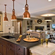 Open Concept Living Room Kitchen Design, Pictures, Remodel, Decor and Ideas - page 2