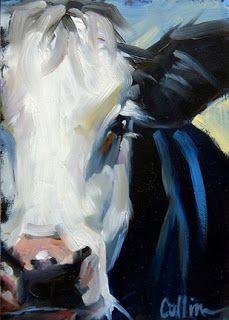 """Here are two new cows. I really like the """"up close and personal"""" faces. - Here are two new cows. I really like the """"up close and personal"""" faces. Cow Painting, Painting & Drawing, Cow Pictures, Farm Art, Cow Art, Guache, Pics Art, Animal Paintings, Painting Inspiration"""