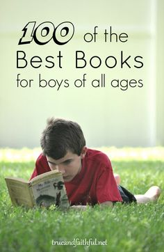 TOP picks of our favorite books for boys with action, adventure, history and character. New readers to teens from a mom of 5 boys.