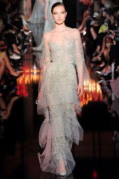 Sfilata Elie Saab Parigi - Alta Moda Autunno-Inverno 2014-15 - Vogue