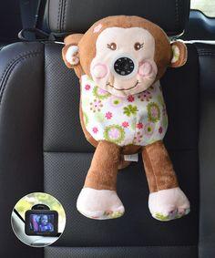 Monkey Always in View Car Baby Monitor by infanttech #zulily #zulilyfinds