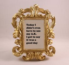 Custom Framed Lyrics ICE CUBE Today was a good day home decor gift dorm office…