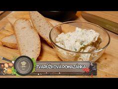 Tvarůžková pomazánka - Nejlepší recept ze tří ingrediencí který Vás vyst... Dips, Ethnic Recipes, Youtube, Food, Sauces, Essen, Dip, Meals, Youtubers