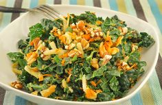 Kale, Carrot & Green