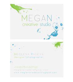 my business card design