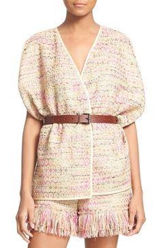Diane von Furstenberg 'Novata' Sleeveless Jacket available at #Nordstrom