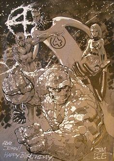 Fantastic Four - Jim Lee