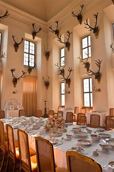 dining room in a country house