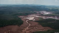 Brazilian mining company Samarco pledged to pay 4.4bn reis for the damaged they've caused. Their operations breached a dam  which set off a deadly mudslide. The mudslide destroyed the town of Mariana in southern Brazil and killed 19 people.