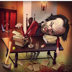 The Shining. Canvas Artwork, Canvas Frame, Canvas Prints, Horror Art, Horror Movies, Stephen King Movies, Image Fun, Graphic Artwork, Funny