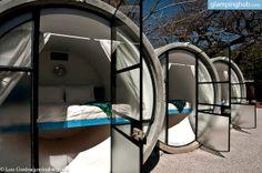 Glamping near Mexico City | Eco-Pods Tube Pipe Hotel Mexico